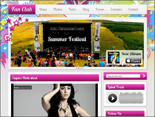 Fan-Club-wordpress-music-theme