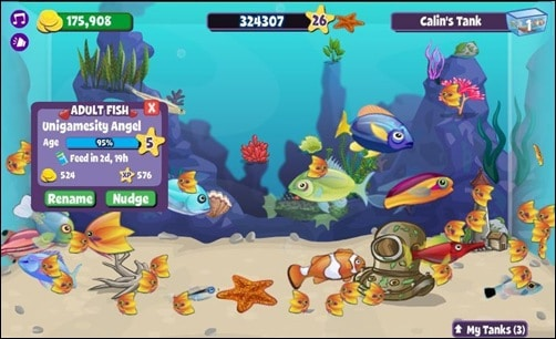 Fishville addictive facebook games