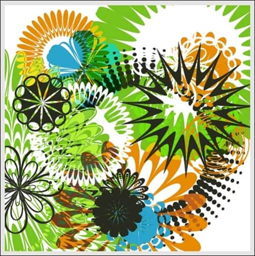 Flowers-andCircular-Designs-illustrator-brush