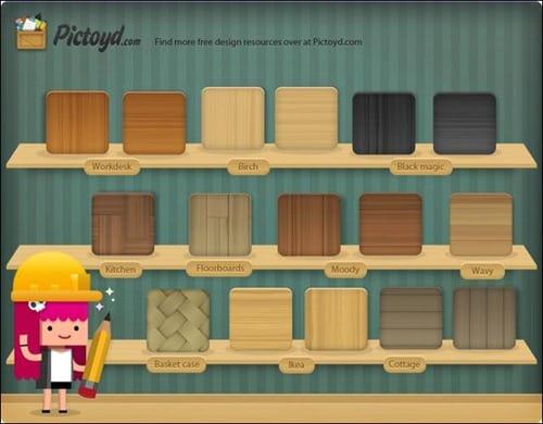 Free-Photosh-Wood-Texture-Pack