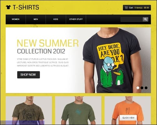 Funny-T-Shirts-opencart-templates