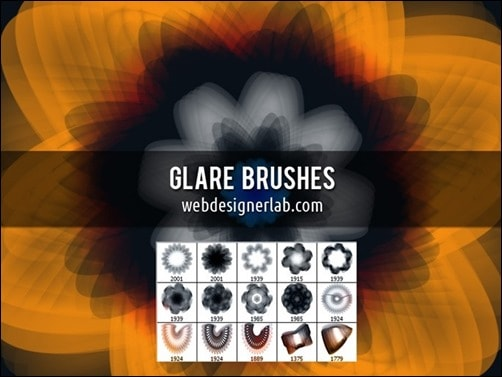 Glare-illustrator-brush