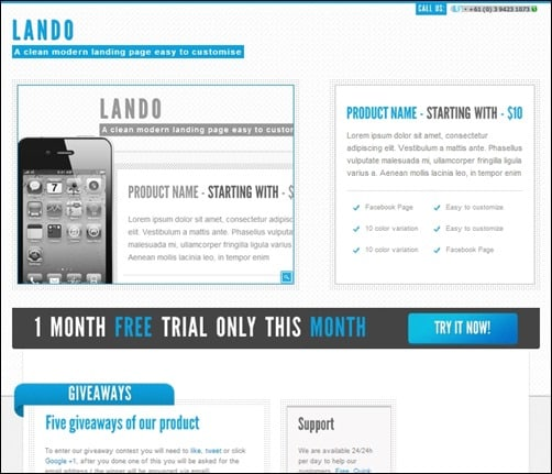 Lando-landing-pages-templates