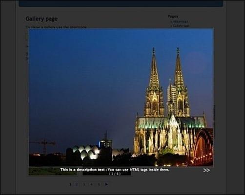 NextGen-Gallery jQuery carousel plugin