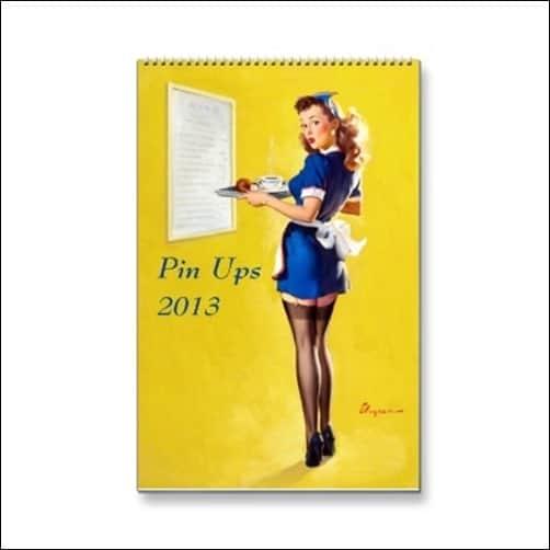 Pin-Ups-2013-Wall-Calendar