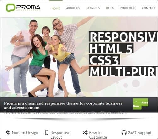 Proma-Drupal-7-themes