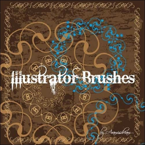 Romantic-Borders-illustrator-brush
