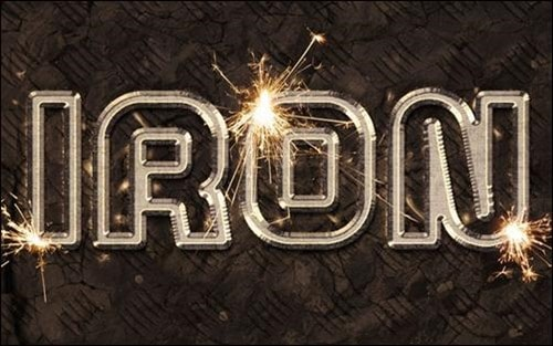 Sparkling-Iron-Text-Effect-