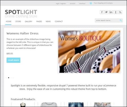 Spotlight-drupal-7-themes