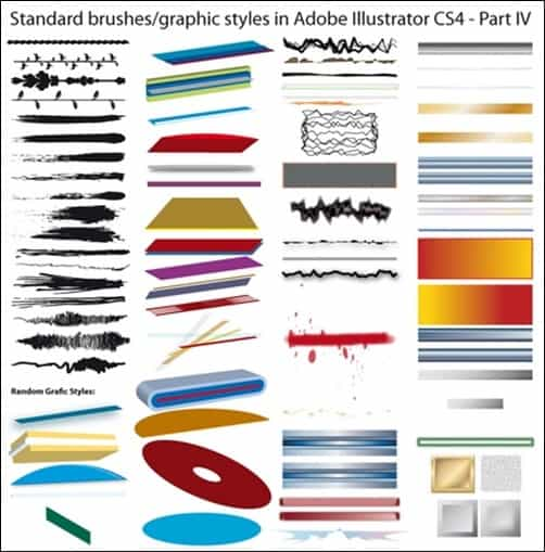 Standard-Brushes-CS4-Part-IV-illustrator-brush