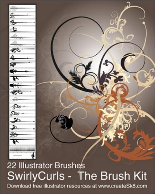 Swirly-Curls---Sick-Brush-Kit-illustrator-brush