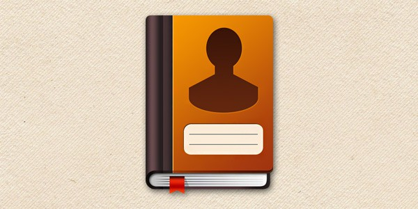 Best Address book icon PSD in 2018-19