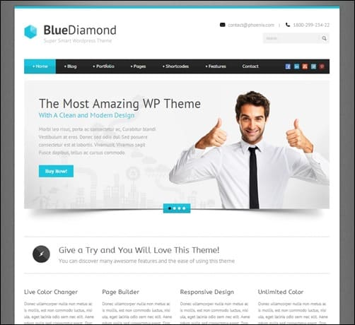 blue-diamond-wordpress-business-themes