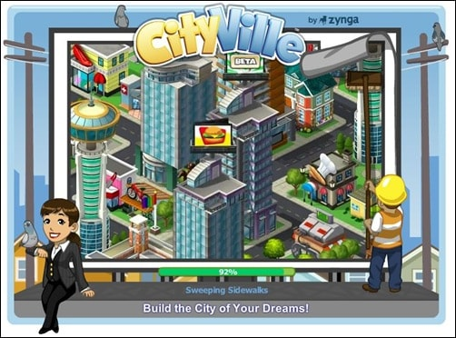 cityville addictive facebook games