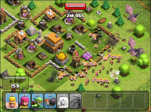 clash of clans best multiplayer iphone games