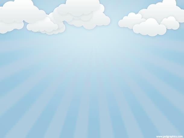 cloudy sky cartoon