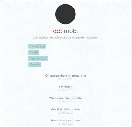 dot-mobi-theme