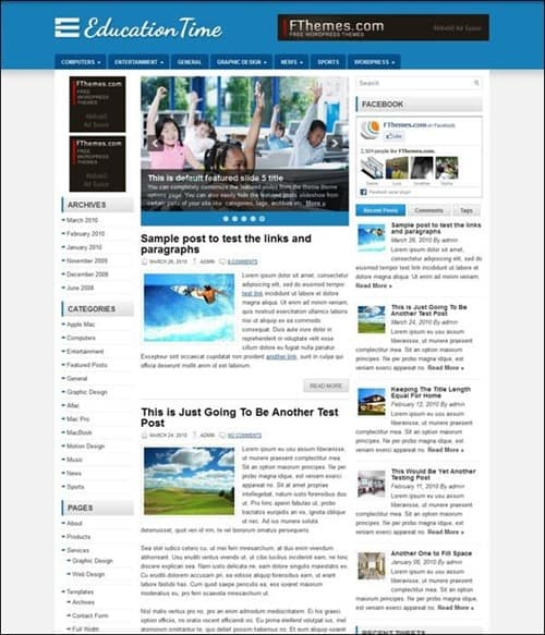 education-time-wordpress-theme