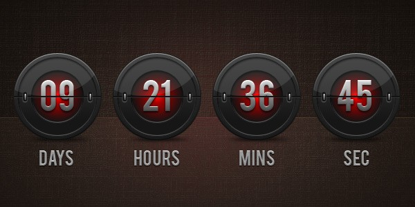 Count Down Ppt BUSINESS CLOCK WITH WORD COUNTDOWN TIME