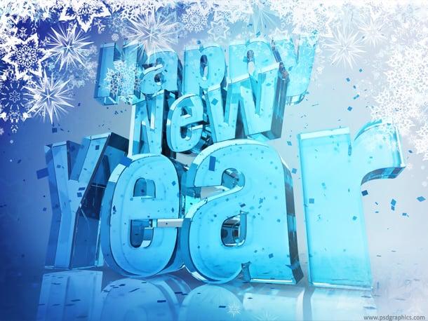 glass happy new year