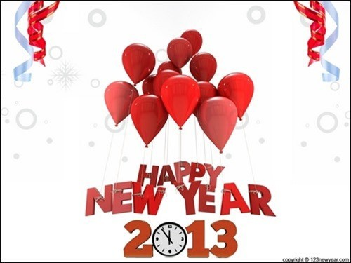 happy new year wallpaper2013