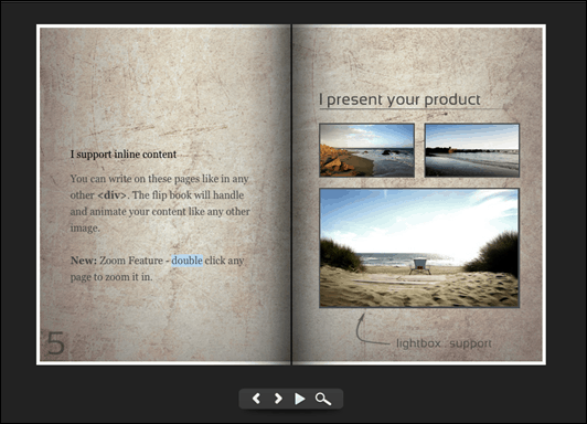 WordPress Gallery Plugins Flipbook