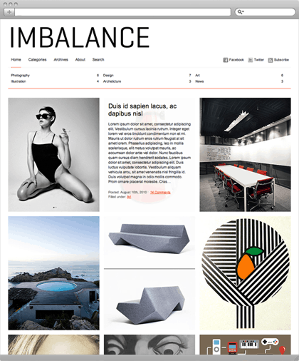 imbalance-theme photography template