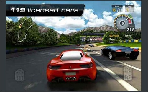 gt racing best multiplayer iphone games