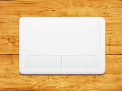 Laptop touch pad