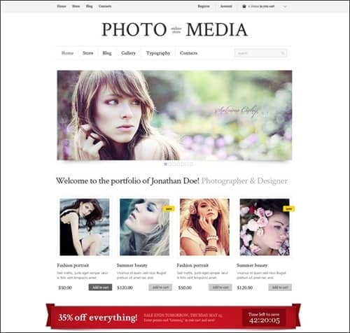 phomedia WordPress ecommerce themes
