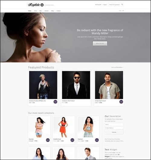 repete WordPress ecommerce themes
