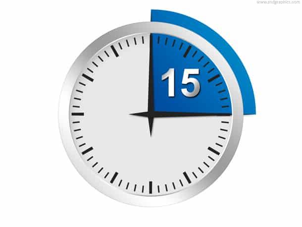 seconds timer