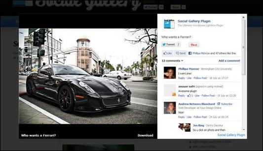 social-gallery WordPress Gallery Plugins