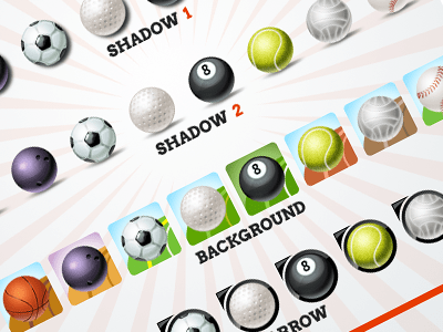 Sport Ball Icons