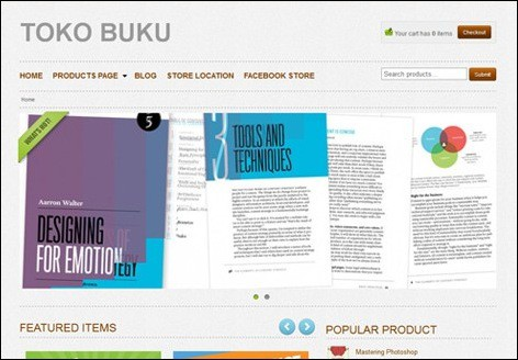 tokobuku WordPress ecommerce themes
