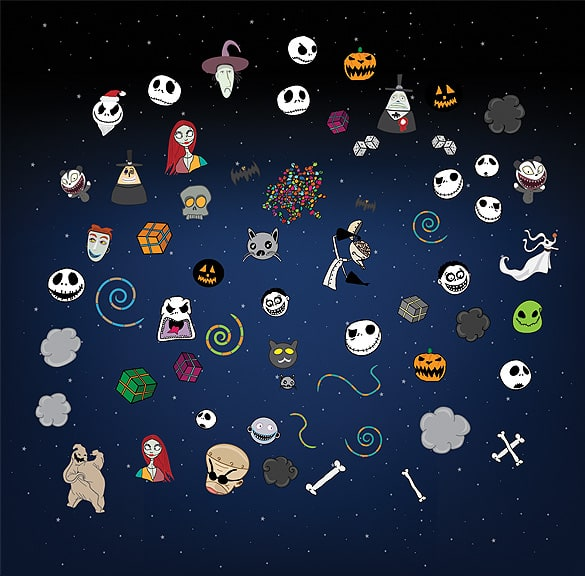 50+ Halloween Vectors Design