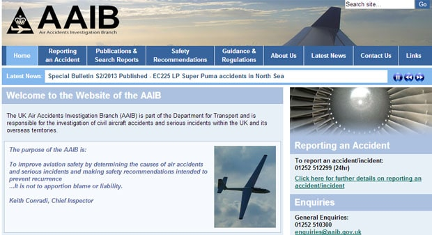 Air Accidents Investigations