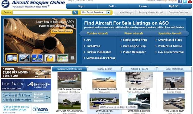 Aircraft Shopper Online