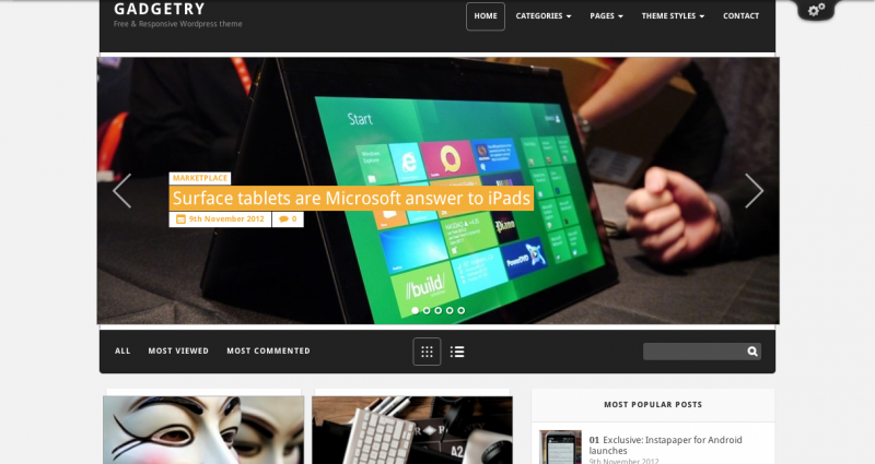 Gadgetry-Free-WordPress-Theme