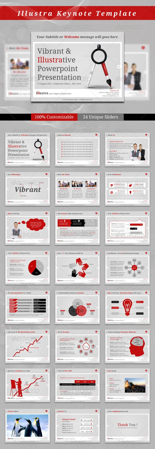 download 12 excellent keynote templates