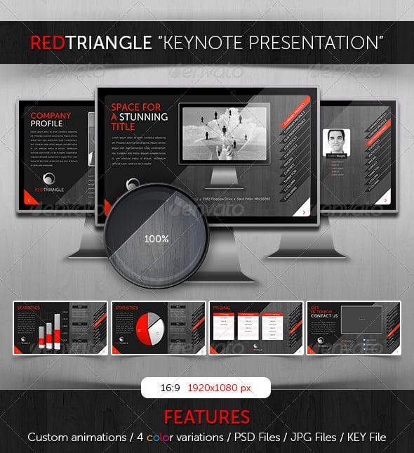 RedTriangle-keynote-template