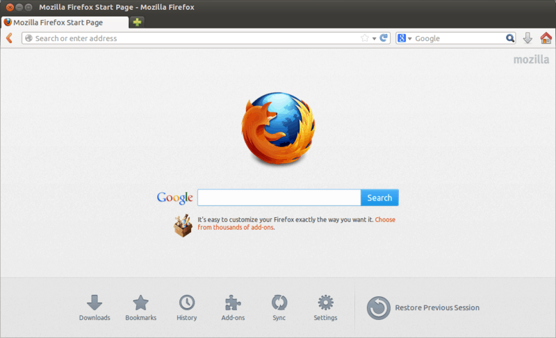 Firefox_22_on_Ubuntu