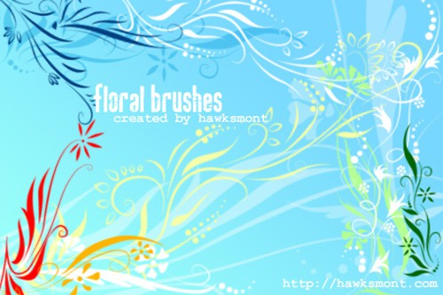 Floral_brushes_by_hawksmont