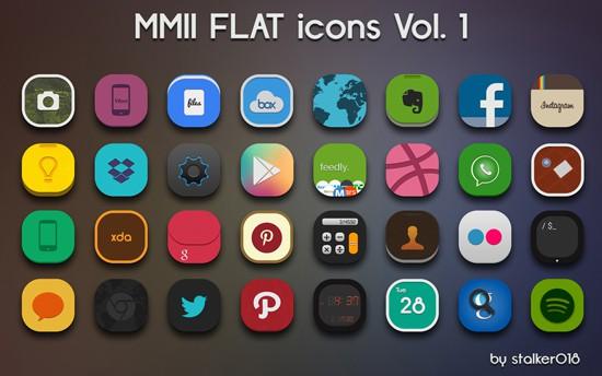 MMII FLAT icons Vol.1