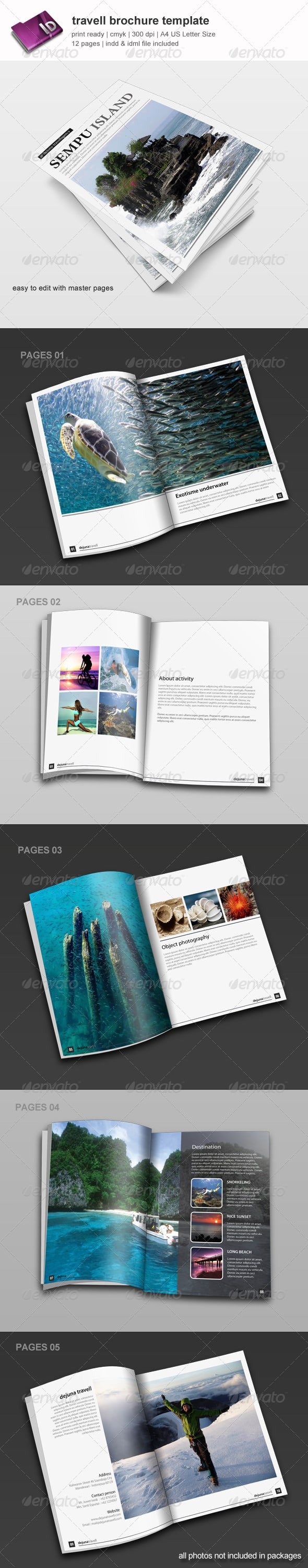 Travell Brochure Template