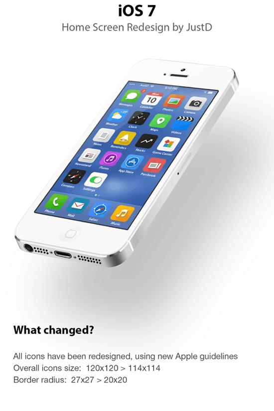 iOS 7 - Redesign
