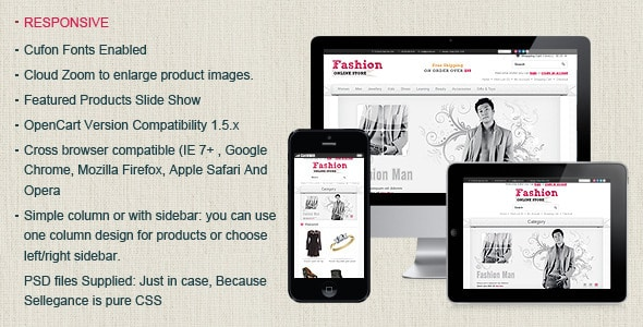 Fashion Opencart Theme