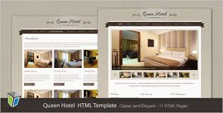 Queen Hotel - Classic and Elegant HTML Template