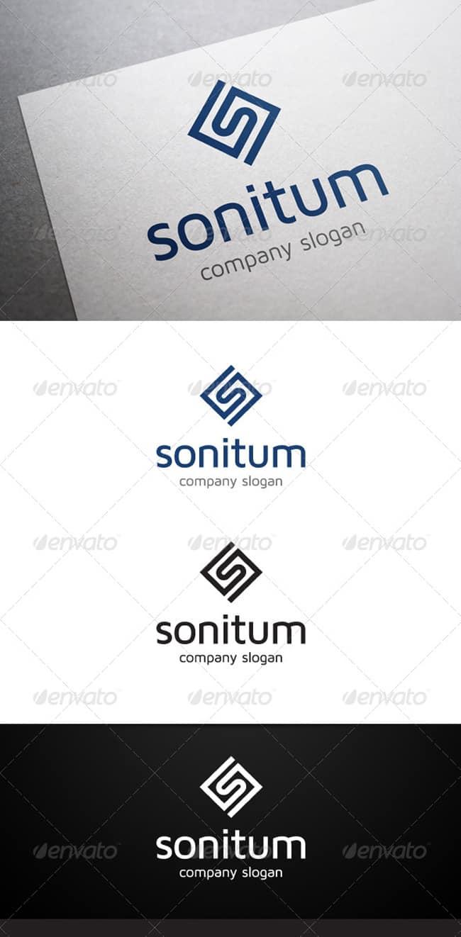 Sonitum S Letter Logo