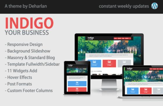 Indigo responsive theme